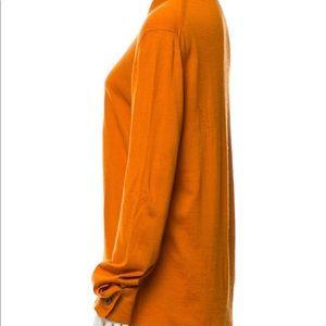 GUCCI    Cashmere & silk blouse.   XL
